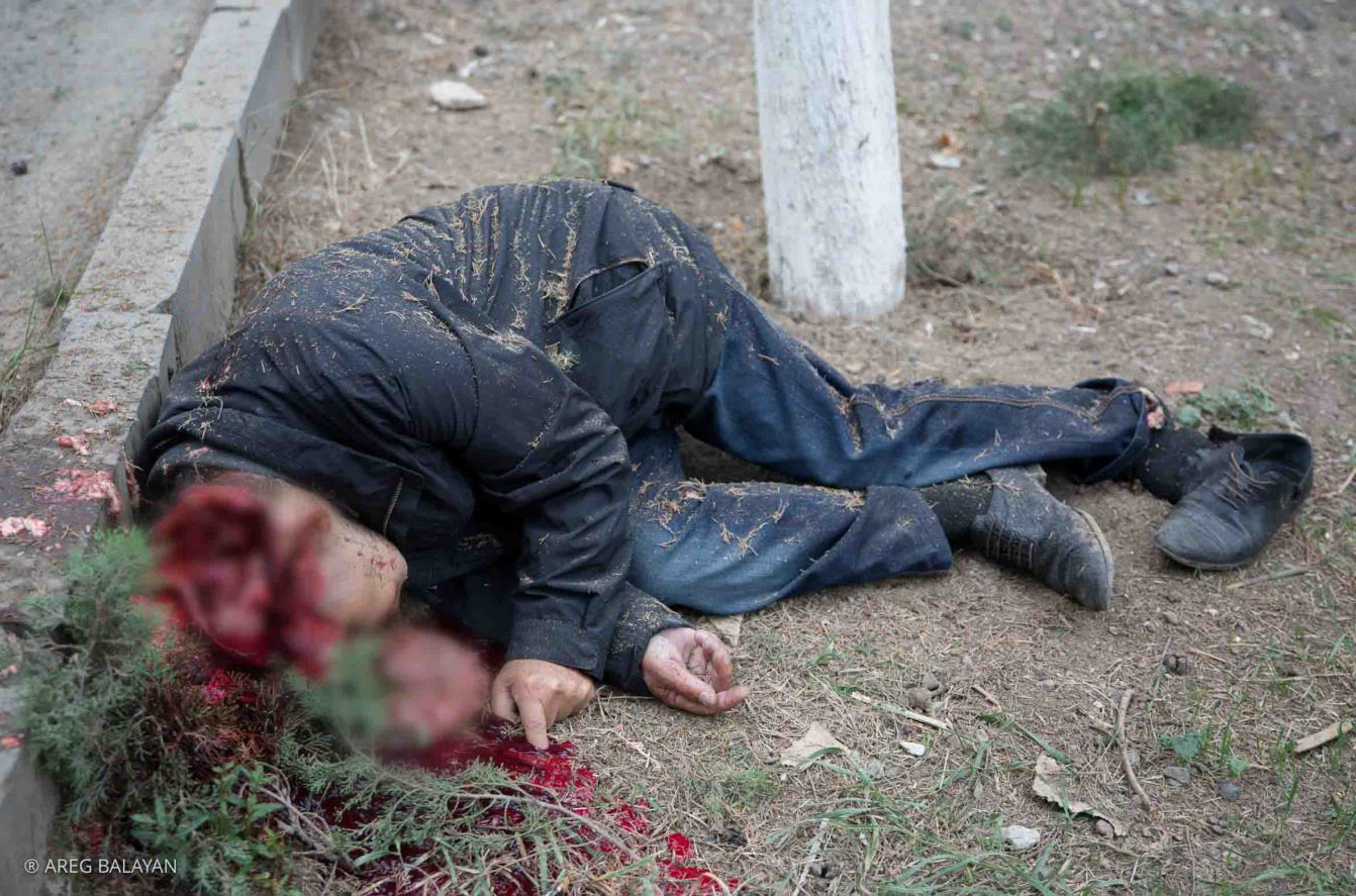 A Civilian Killed by Azerbaijan in Martuni Town